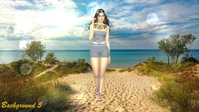 Beach CAS Backgrounds at Annett's Sims 4 Welt image 988 Sims 4 Updates