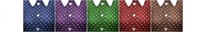 Sims 4 Navy polka dot silk crepe midi dress at Rusty Nail
