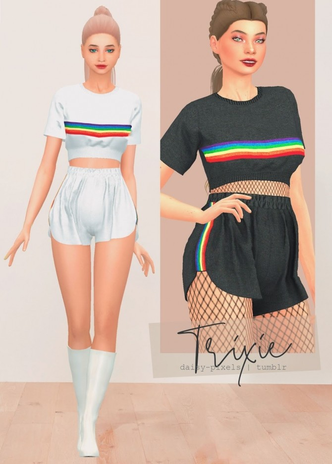 Trixie Set (Happy Pride Month) at Daisy Pixels image 10113 670x937 Sims 4 Updates