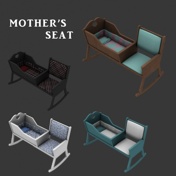 Sims 4 Mother's Seat at Leo Sims