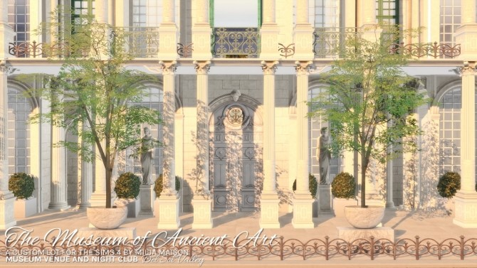 THE MUSEUM OF ANCIENT ART at Milja Maison image 1015 670x377 Sims 4 Updates