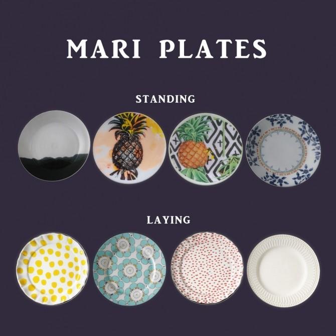 Sims 4 Mari Plates at Leo Sims