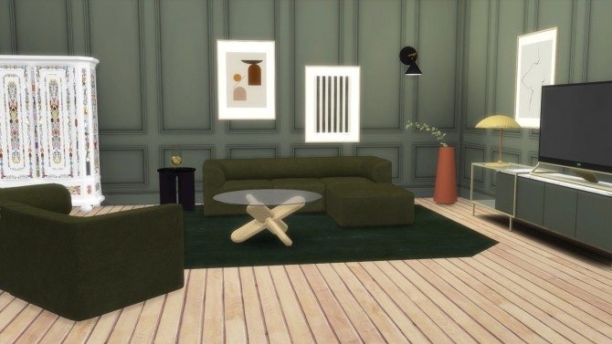 Sims 4 EAVE SOFA COLLECTION (P) at Meinkatz Creations