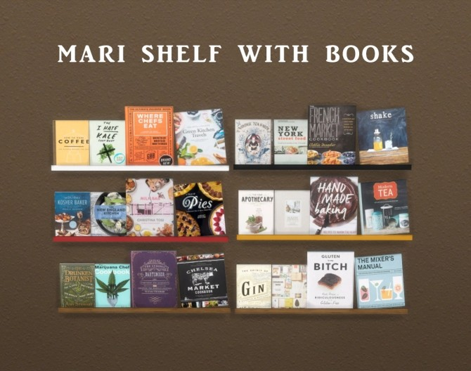 Shelf With Books at Leo Sims image 10411 670x528 Sims 4 Updates