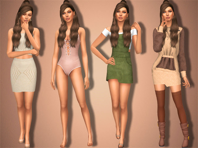 Sims 4 Danica Brower at MSQ Sims