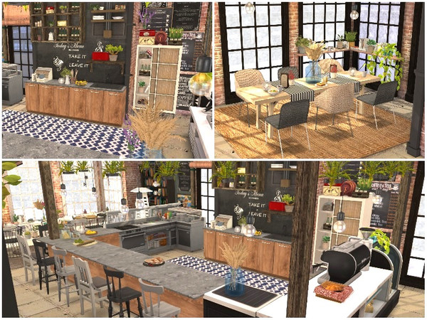 OLD QUARTER RESTAURANT by lotsbymanal at TSR image 1049 Sims 4 Updates