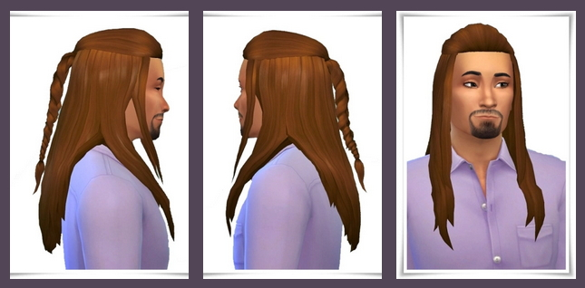 Sims 4 New Tranduil Hair at Birksches Sims Blog