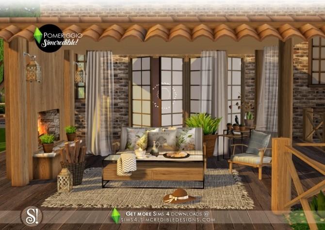 Pomeriggio patio at SIMcredible! Designs 4 image 1057 670x474 Sims 4 Updates