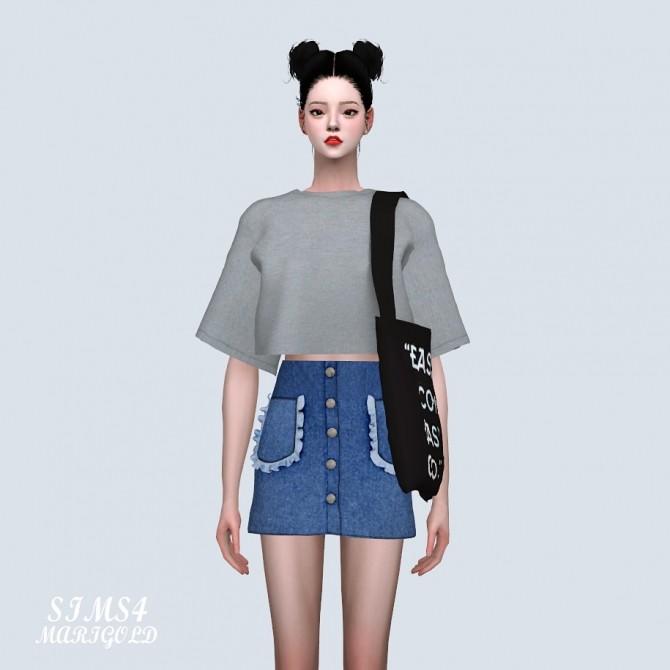 Frill Pocket Mini Skirt (P) at Marigold image 10612 670x670 Sims 4 Updates