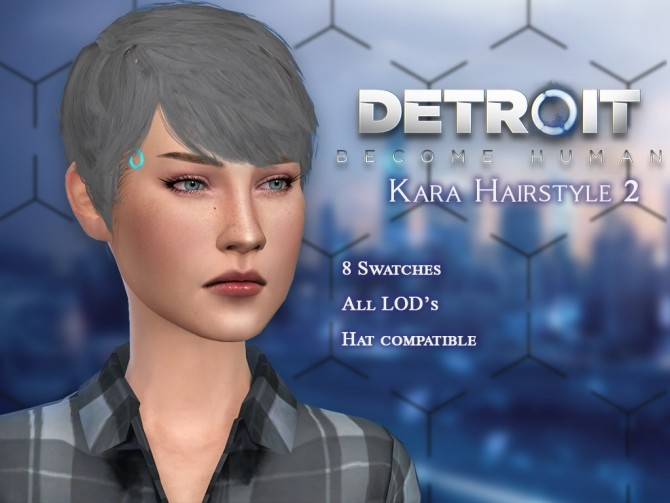 Sims 4 Karas Hairstyles at PW's Creations