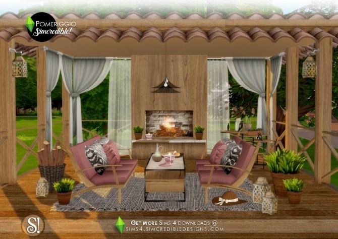 Pomeriggio patio at SIMcredible! Designs 4 image 1067 670x474 Sims 4 Updates