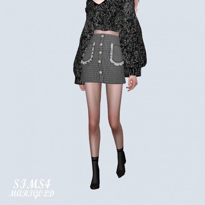 Frill Pocket Mini Skirt (P) at Marigold image 10712 670x670 Sims 4 Updates
