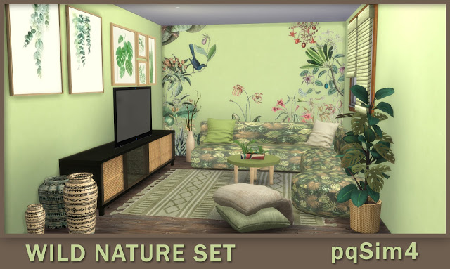 Wild Nature Set at pqSims4 image 1075 Sims 4 Updates