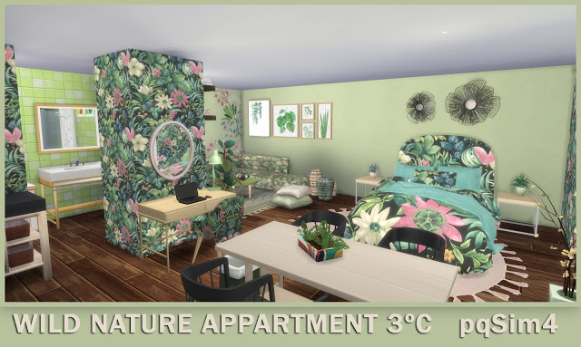 3º C Wild Nature Apartment at pqSims4 image 1076 Sims 4 Updates