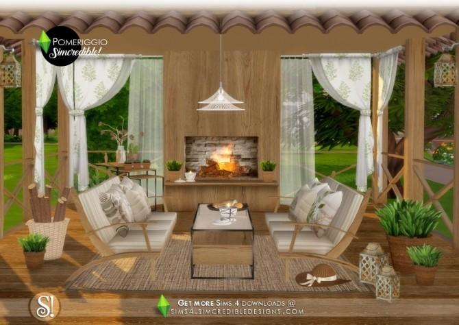 Pomeriggio patio at SIMcredible! Designs 4 image 1077 670x474 Sims 4 Updates