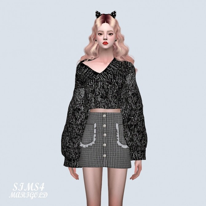 Frill Pocket Mini Skirt (P) at Marigold image 10812 670x670 Sims 4 Updates