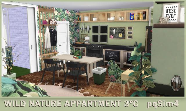 3º C Wild Nature Apartment at pqSims4 image 1086 Sims 4 Updates