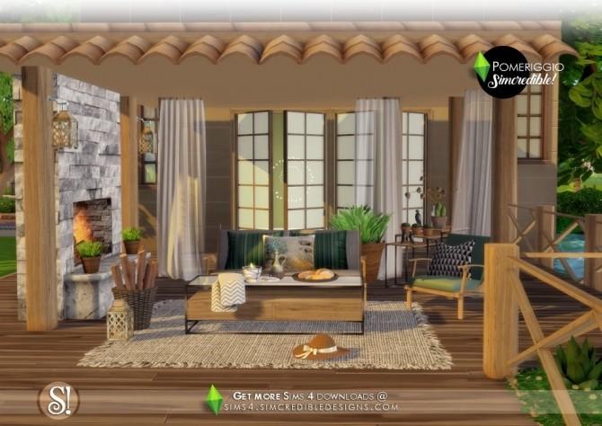 Pomeriggio patio at SIMcredible! Designs 4 image 1087 670x474 Sims 4 Updates
