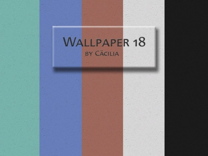 Wallpaper 18 by Cacilia at Akisima image 10910 670x503 Sims 4 Updates