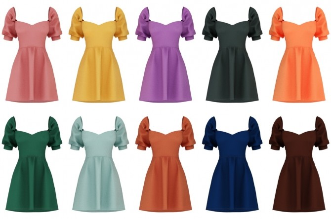 Andrea Dress at Daisy Pixels image 10914 670x444 Sims 4 Updates