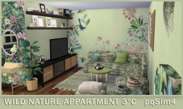 3º C Wild Nature Apartment at pqSims4 image 1096 Sims 4 Updates