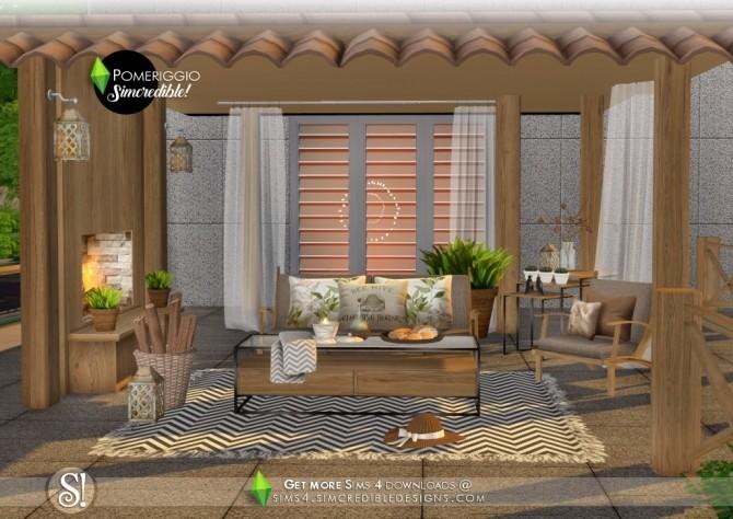 Pomeriggio patio at SIMcredible! Designs 4 image 1097 670x474 Sims 4 Updates