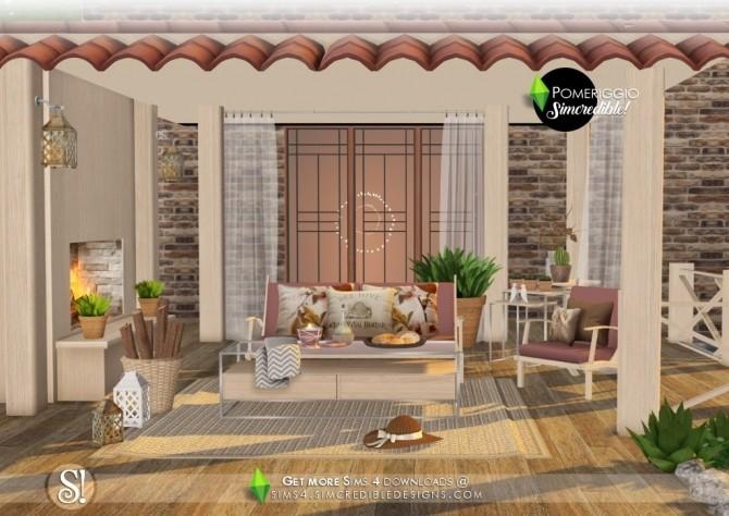 Pomeriggio patio at SIMcredible! Designs 4 image 11011 670x474 Sims 4 Updates