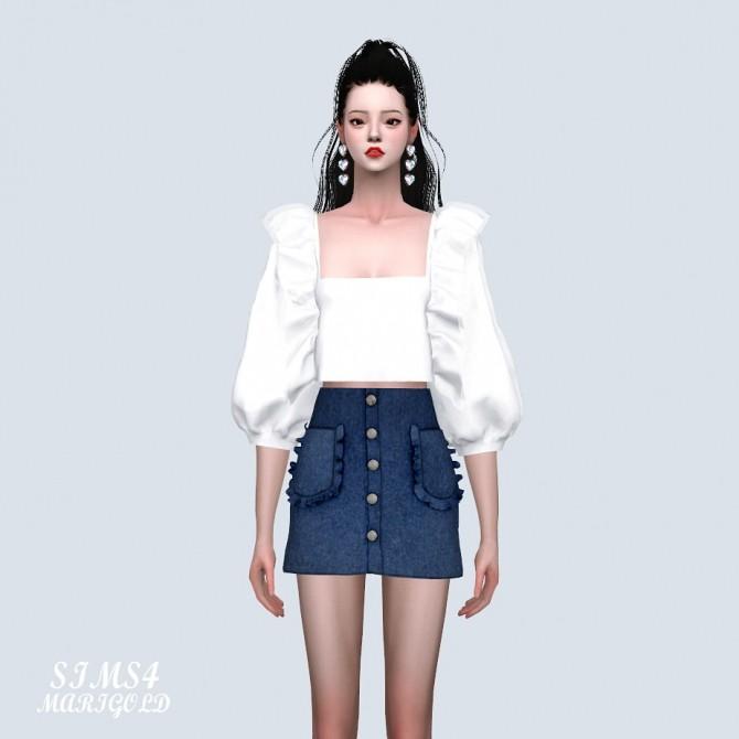 Frill Pocket Mini Skirt (P) at Marigold image 11016 670x670 Sims 4 Updates