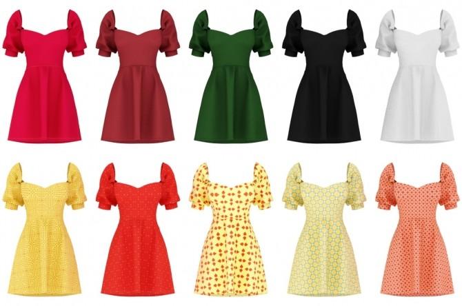 Andrea Dress at Daisy Pixels image 11018 670x444 Sims 4 Updates