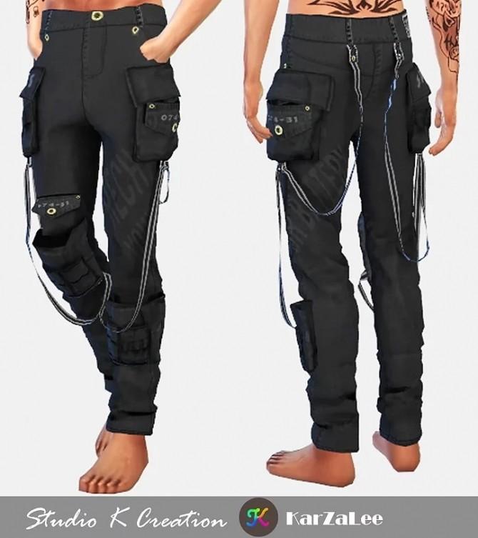 Multi Pocket Pants at Studio K Creation image 1108 670x753 Sims 4 Updates