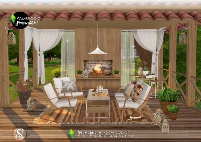 Pomeriggio patio at SIMcredible! Designs 4 image 11111 670x474 Sims 4 Updates