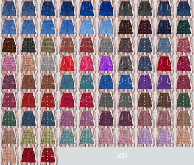 Frill Pocket Mini Skirt (P) at Marigold image 11116 670x570 Sims 4 Updates