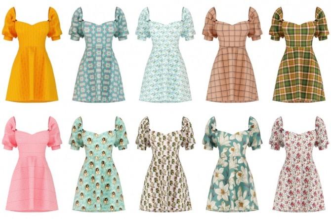Andrea Dress at Daisy Pixels image 11118 670x444 Sims 4 Updates
