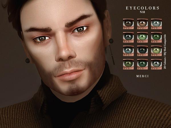 Sims 4 Eyecolors N18 by Merci at TSR