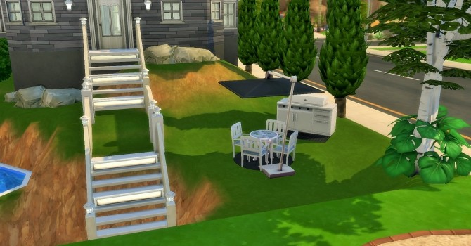 Two story home on hill by heikeg at Mod The Sims image 1121 670x350 Sims 4 Updates