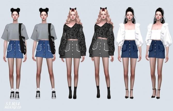Frill Pocket Mini Skirt (P) at Marigold image 11214 670x430 Sims 4 Updates