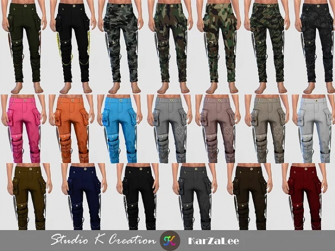 Multi Pocket Pants at Studio K Creation image 1124 670x502 Sims 4 Updates