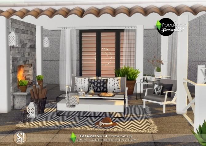 Pomeriggio patio at SIMcredible! Designs 4 image 1127 670x474 Sims 4 Updates