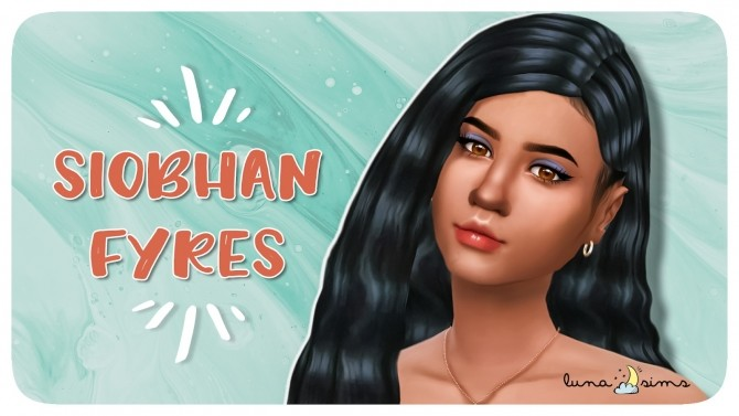 SIOBHAN FYRES Townie Makeover at Luna Sims » Sims 4 Updates