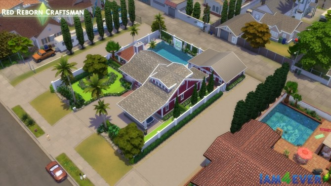 Sims 4 Red Reborn Craftsman CC Free by Iam4ever at Mod The Sims