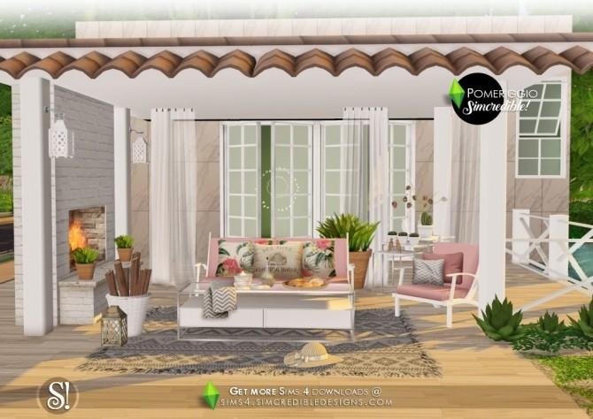 Pomeriggio patio at SIMcredible! Designs 4 image 1136 670x474 Sims 4 Updates