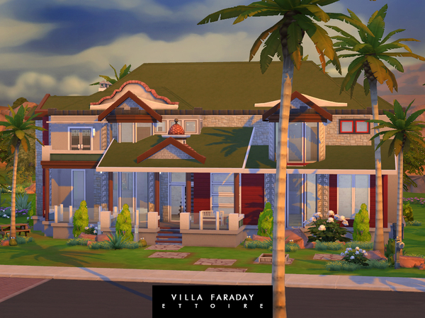 Villa Faraday by Ettoire at TSR image 1150 Sims 4 Updates