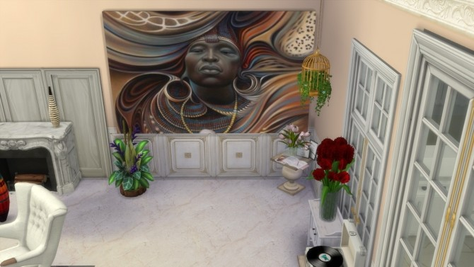 Dreams of Africa paintings at Paradoxx Sims image 11511 670x377 Sims 4 Updates