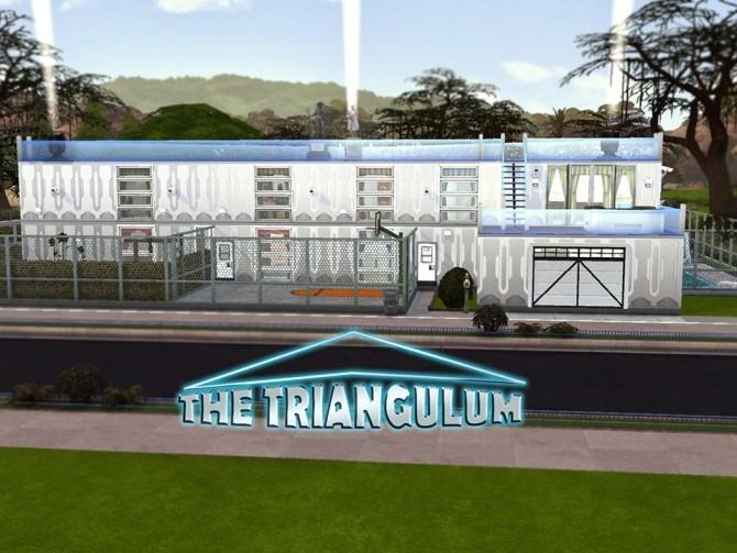 Sims 4 The Triangulum house Gerosha Chronicles by BulldozerIvan at Mod The Sims