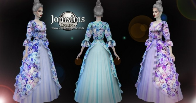 Lemilienne dress at Jomsims Creations image 1154 670x355 Sims 4 Updates
