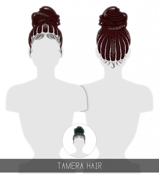 Sims 4 TAMERA HAIR + TODDLER & CHILD at Simpliciaty