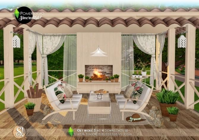 Pomeriggio patio at SIMcredible! Designs 4 image 1156 670x474 Sims 4 Updates