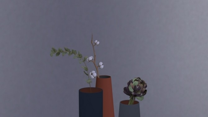 DUAL FLOOR VASE COLLECTION at Meinkatz Creations image 1173 670x377 Sims 4 Updates