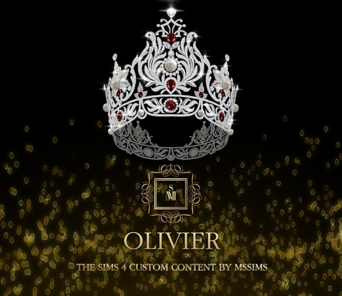 Sims 4 OLIVIER CROWN at MSSIMS