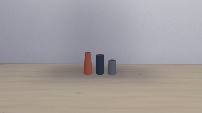 DUAL FLOOR VASE COLLECTION at Meinkatz Creations image 1183 670x377 Sims 4 Updates